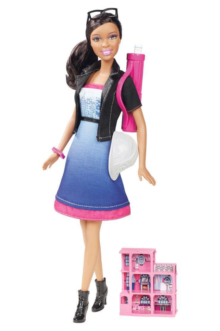 "<p>Perhaps inspired by decades of various Dream Houses, Architect Barbie establishes her own practice. </p><p><a href=""http://www.goodhousekeeping.com/home/a25754/pink-mansion-tour/"" rel=""nofollow noopener"" target=""_blank"" data-ylk=""slk:Tour a fabulous pink mansion »"" class=""link rapid-noclick-resp""><em>Tour a fabulous pink mansion »</em></a></p>"