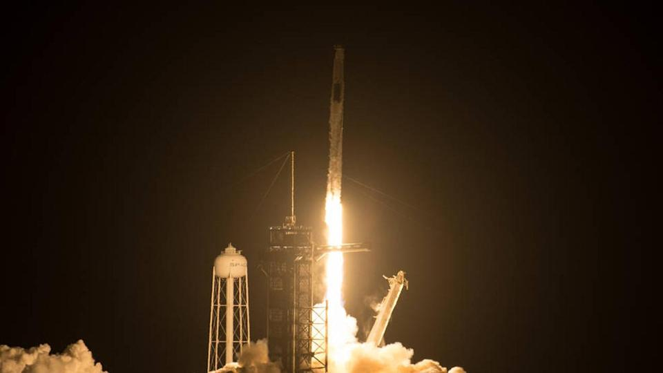 NASA and SpaceX set several 'firsts' on Crew-2 launch to Space Station