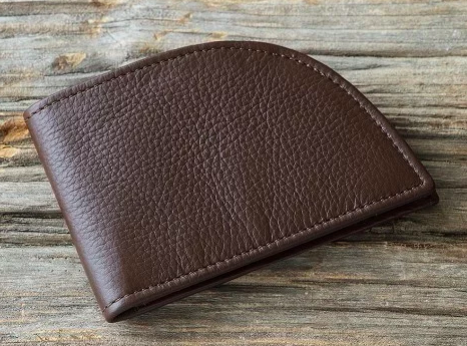 Leather Front Pocket Wallet (Photo: The Grommet)