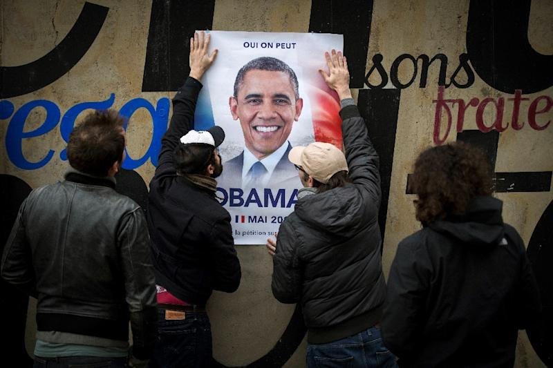 Obama 2017? 50,000 French people want him as president