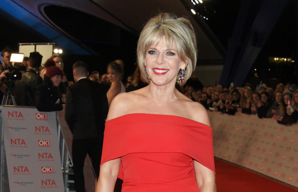 LONDON, ENGLAND - JANUARY 23:  Ruth Langsford attends the National Television Awards 2018 at The O2 Arena on January 23, 2018 in London, England.  (Photo by David M. Benett/Dave Benett/Getty Images)