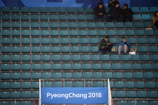 Pyeongchang: Olympic Hockey Struggles To Draw Crowds Without NHL Players