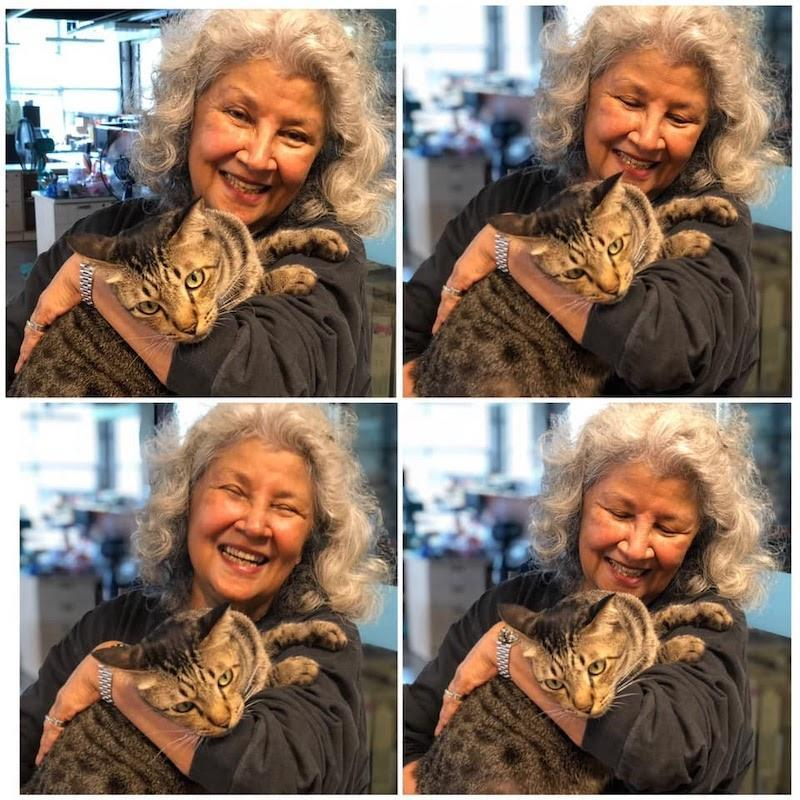 Ask the 81-year-old theatre stalwart about her cats. — Picture courtesy of klpac