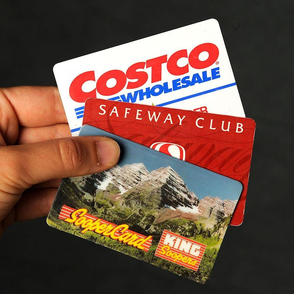 <p>You can shop at Costco without a membership if someone gives you a Costco cash card. The cash card can be loaded up just like any other gift card, and you're allowed to use it even if you aren't a member.</p>