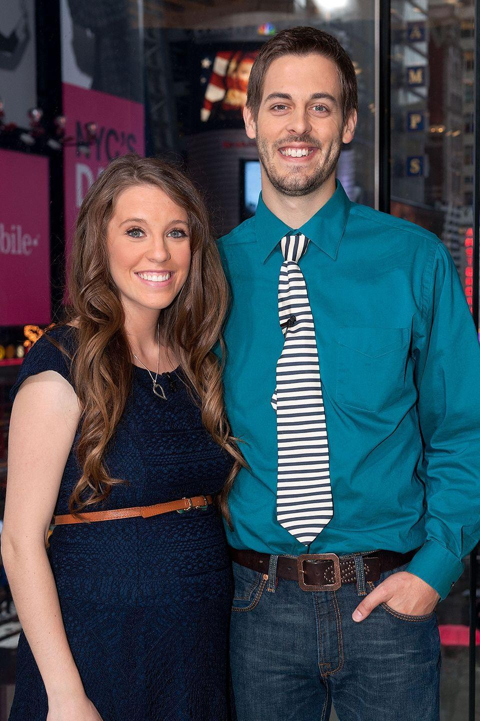 """<p>Jill Duggar, the first daughter on the show <em>19 Kids and Counting </em>to get married, waited until that day for any kind of intimacy with her partner—which was expected by her family. The Duggars require their kids to enter into a """"courtship"""" with a partner, during which they can only give side-hugs. Jill <a href=""""http://www.intouchweekly.com/posts/like-a-virgin-9-stars-who-waited-until-marriage-to-have-sex-46796/photos/jill-duggar-66418#photo-anchor"""" rel=""""nofollow noopener"""" target=""""_blank"""" data-ylk=""""slk:hadn't even kissed"""" class=""""link rapid-noclick-resp"""">hadn't even kissed</a> her now-husband Derick before getting married.</p><p>""""We're just really trying to keep our relationship focused not on the physical but really just more on communication and continuing to learn more about each other. We're saving our first kiss and things beyond that for our wedding,"""" she said in an interview.</p>"""