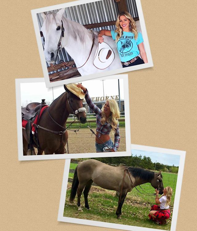 She now trains horses full-time. (Photo: Shannon Ihrke)