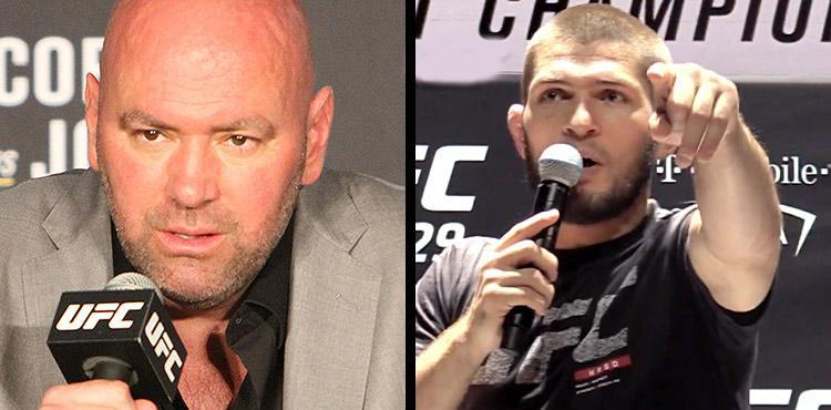Dana White and Khabib Nurmagomedov