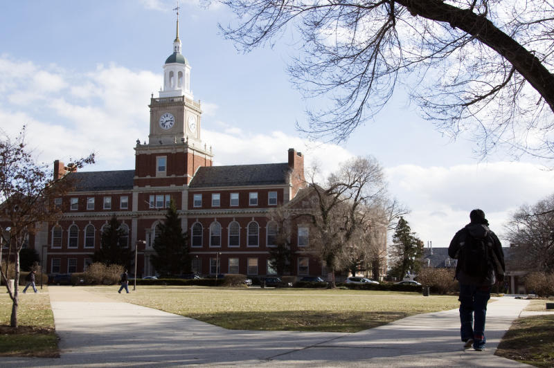 Howard University's president has generally confirmed that financial aid employees misappropriated funds over a period of several years. (Jason Colston via Getty Images)