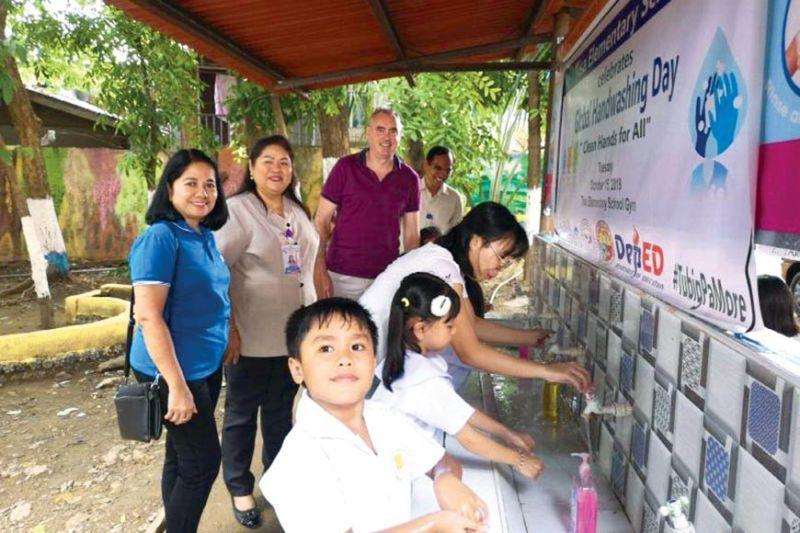 MCWD, VEI promote handwashing to students