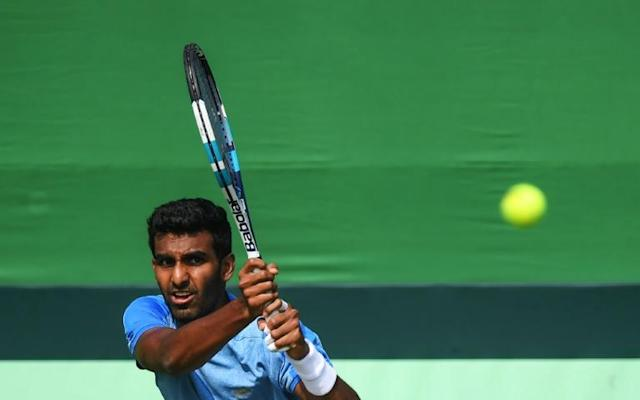 Until recently, Pakistan has been forced to host Davis Cup ties at neutral venues as teams refused to travel to the South Asian nation over security concerns (AFP Photo/Dibyangshu SARKAR)