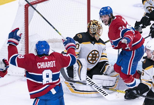 Controversial overturned goal call costly in Bruins' loss to Canadiens