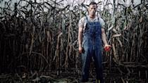"""<p><strong>What you're in for:</strong> This tense, disturbing Stephen King adaptation sees Thomas Jane playing a backwoods farmer who convinces his son (Dylan Schmid) to help murder his own mother (Molly Parker) in 1922. Unfortunately their choice continues to haunt them, long after she's gone.</p> <p><strong>Notable gore:</strong> If you're scared of rats, do <em>not</em> watch this movie.</p> <p><a href=""""https://www.netflix.com/title/80135164"""" class=""""link rapid-noclick-resp"""" rel=""""nofollow noopener"""" target=""""_blank"""" data-ylk=""""slk:Watch 1922 on Netflix."""">Watch <strong>1922</strong> on Netflix.</a></p>"""