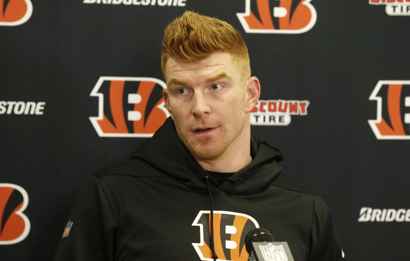 After securing the top pick in the 2020 NFL draft with a loss to the Dolphins on Sunday, Andy Dalton sounded off on happy Bengals fans.