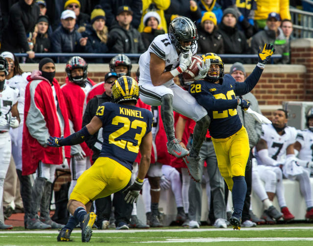 Michigan hasn't beaten Ohio State since 2011. (AP Photo/Tony Ding, File)