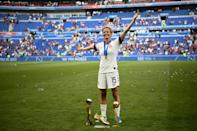 Megan Rapinoe won matches on the pitch and hearts off it during the women's World Cup