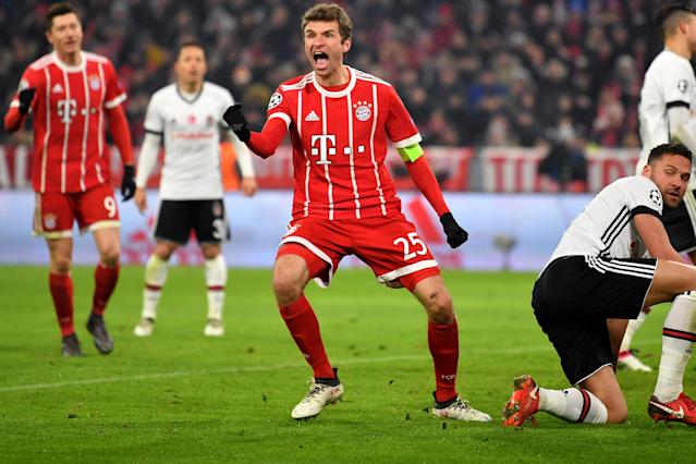 Thomas Muller is capable of scoring out of nothing, according to Bayern Munich coach Jupp Heynckes.