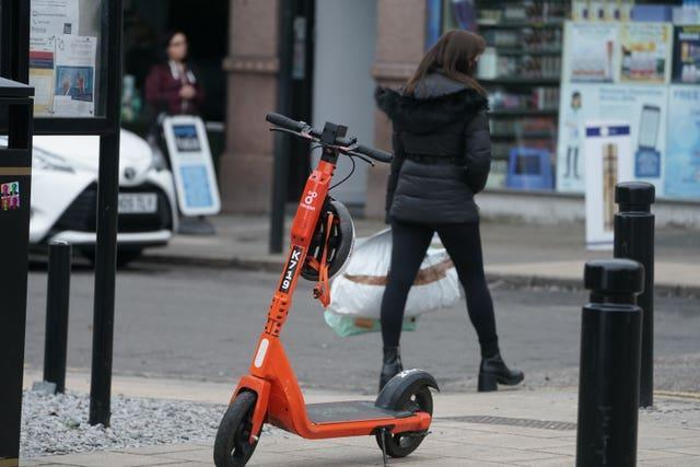 The scooters can no longer be ridden overnight