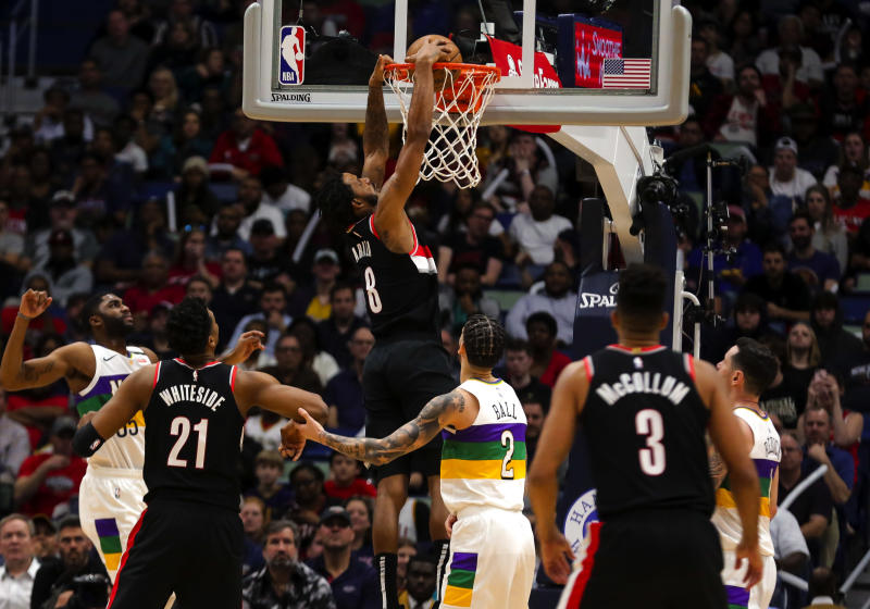 How To Watch Stream Blazers Vs Pelicans Tonight At 7 30pm
