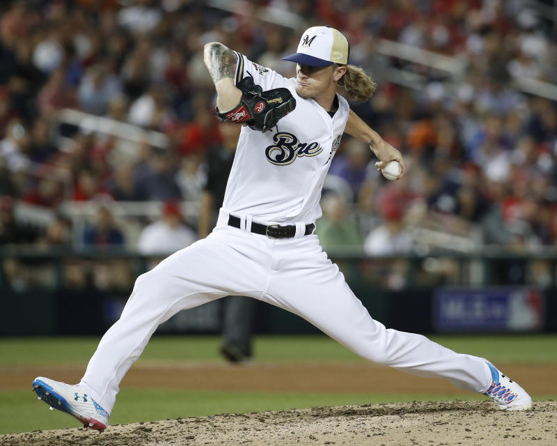 Brewers All-Star Hader takes responsibility for racist, homophobic tweets
