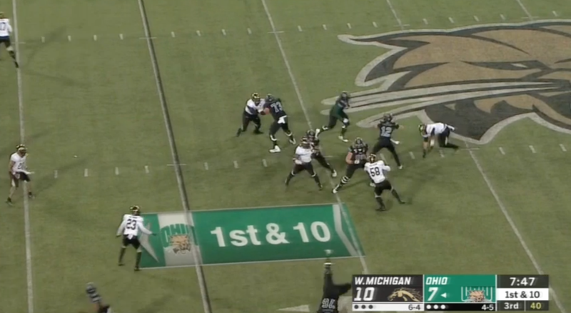 Spot the cartwheel. (via ESPN2)