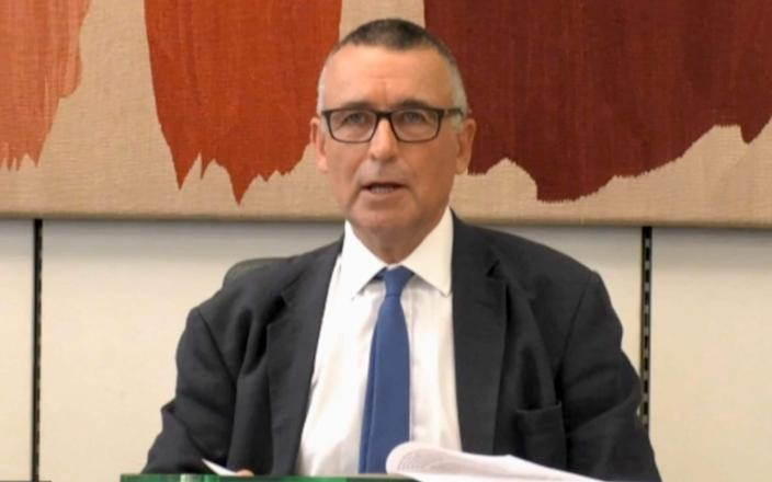 Sir Bernard Jenkin: 'The select committees themselves don't much like the liaison committee interfering in their inquiries.' - AFP