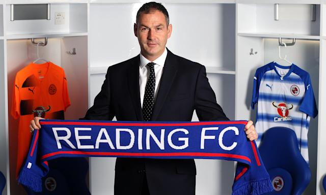 Paul Clement is unveiled by Reading at the Madejski Stadium.