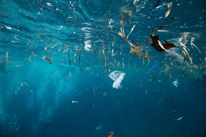 Experts say plastic pollution has reached a tipping point - triggering effects we will not be able to reverse. (Getty Images)