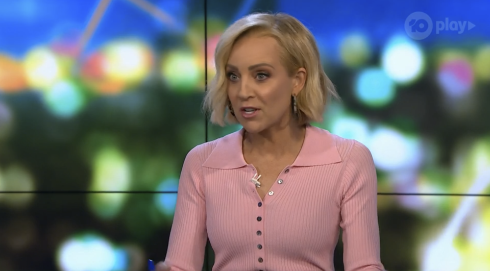Carrie Bickmore said it was extraordinary to see Victorians all following the rules now they're in their fifth lockdown. Photo: Ten
