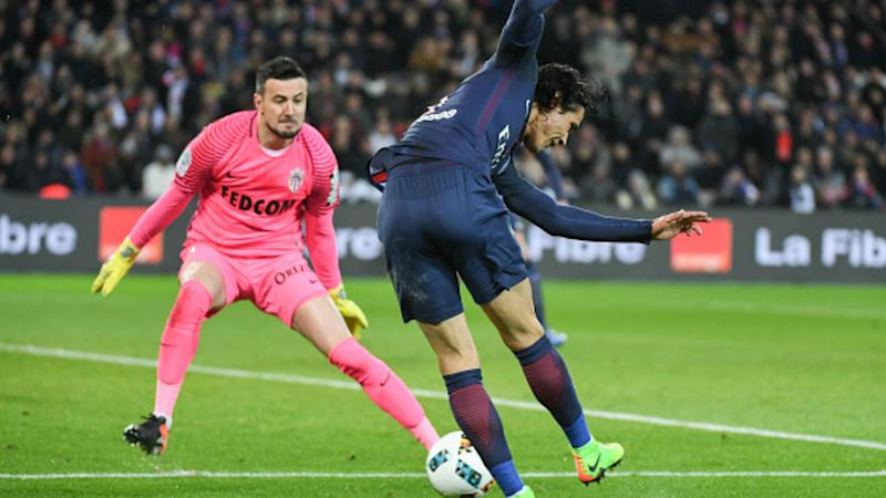 Cavani Subasic PSG Monaco Ligue 1