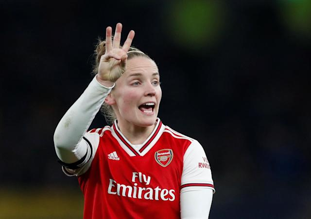 Kim Little scored Arsenal's second in sublime fashion in their 3-0 win over Reading on Sunday