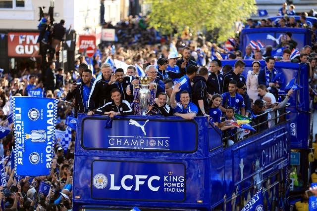 Leicester clinched the most remarkable Premier League title win in 2016