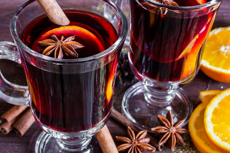 """<p>If digestion problems are the bane of your life, listen up for mulled wine's clove is your new best friend. Clove can <a href=""""https://www.livestrong.com/article/346761-ground-clove-health-benefits/"""" rel=""""nofollow noopener"""" target=""""_blank"""" data-ylk=""""slk:improve digestion"""" class=""""link rapid-noclick-resp"""">improve digestion</a> and workings of the gut by increasing gastro-intestinal enzyme secretion. Sounds very science-y but it means bye bye to constipation, indigestion and more. <i>[Photo: Getty]</i> </p>"""