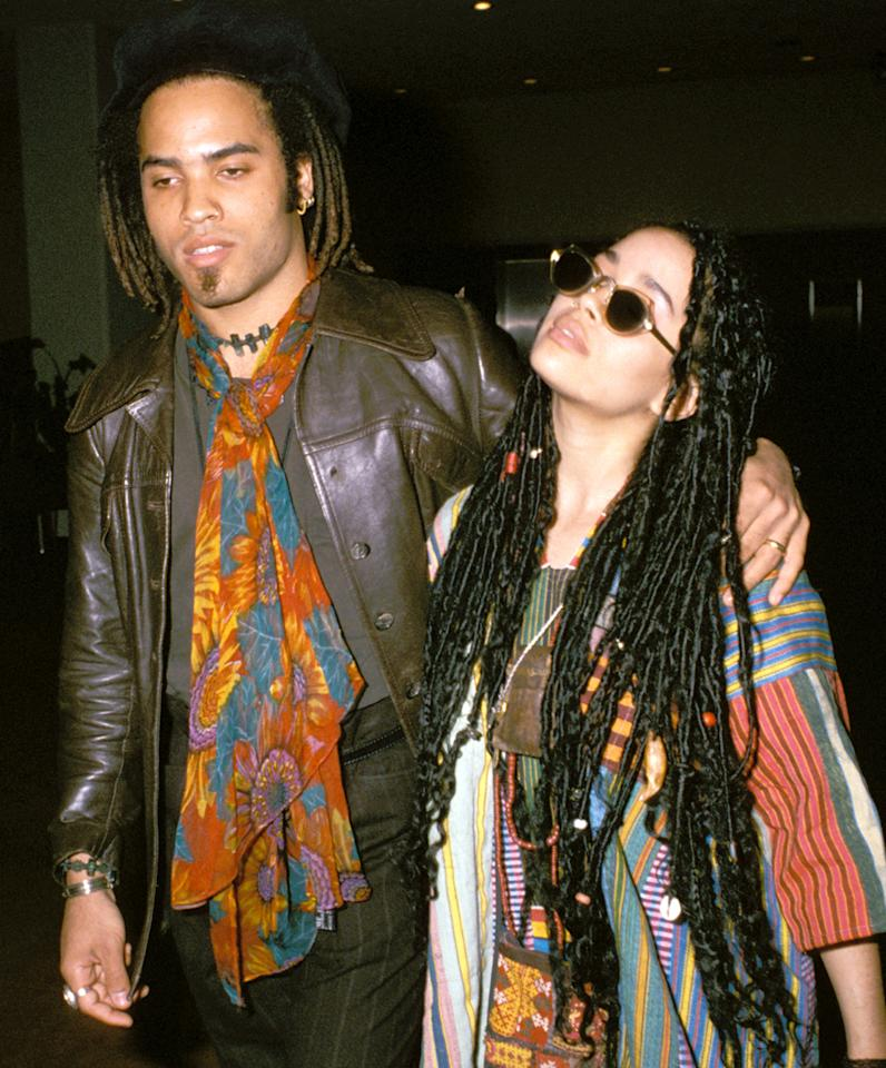 "Lenny Kravitz wrote ""It Ain't Over 'til It's Over"" about his rocky relationship with actress Lisa Bonet."