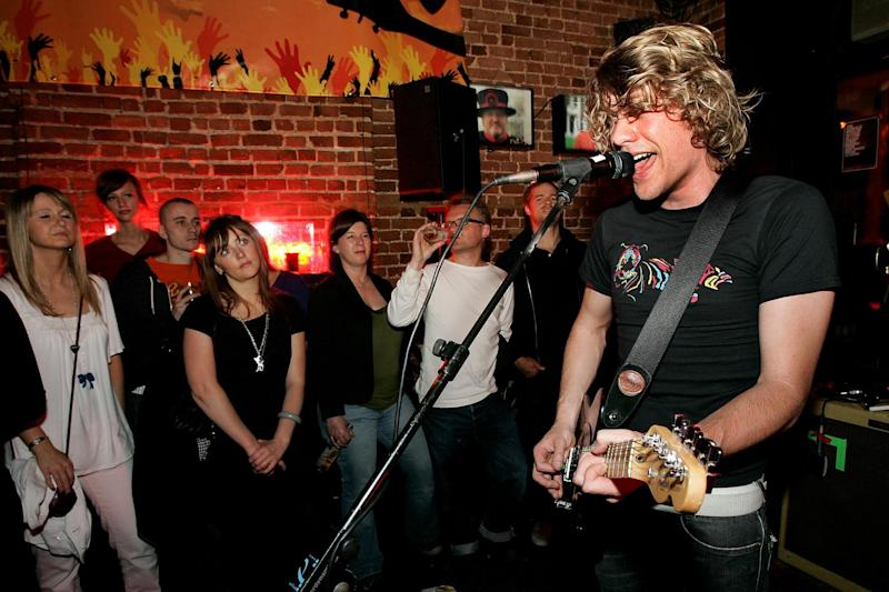Locked down: Pull Tiger Tail perform at the Lock Tavern in 2007: Getty Images