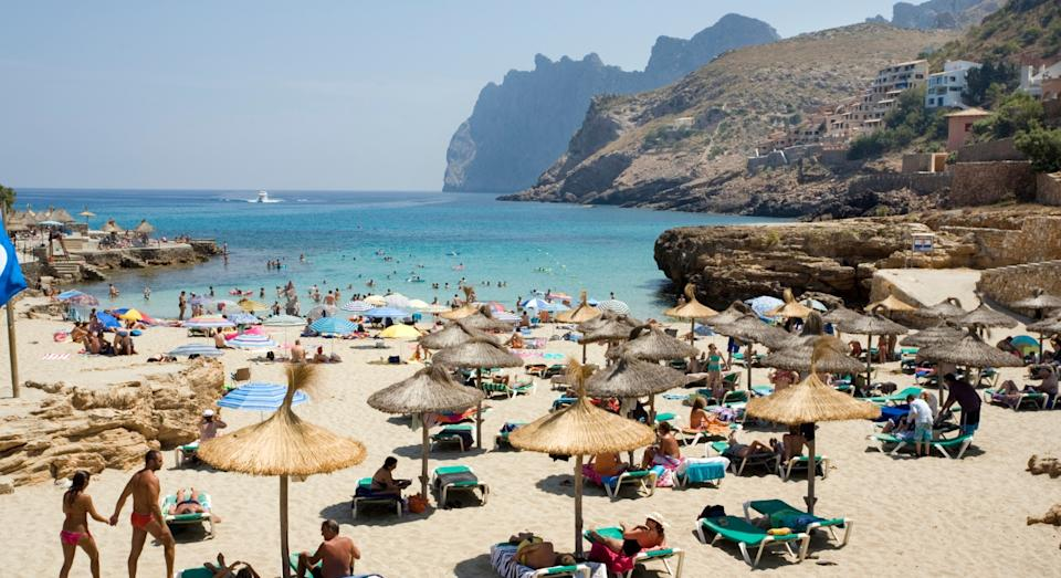 Spanish destinations like Tenerife and Benidorm featured on the list (Getty)