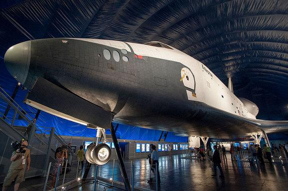 Space Shuttle Enterprise Exhibit Reopening in NYC this Week