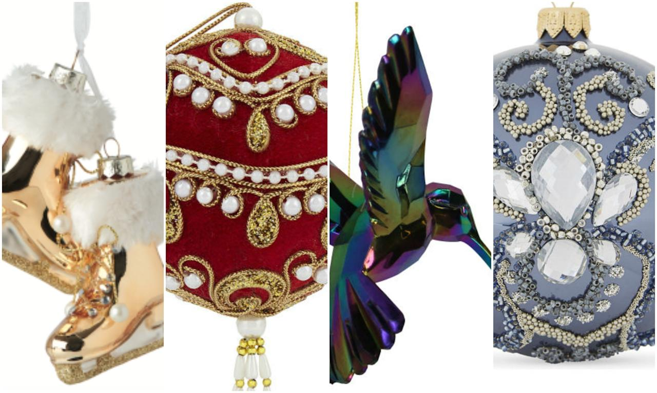 <p>Browse this selection of bold, sparkly and unique decorations!</p>