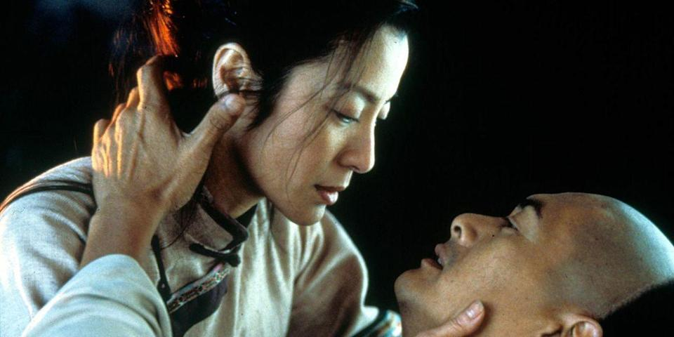 "<p>Sometimes you need a little more than just sweet nothings and rolls in the hay—like an epic martial arts adventure defying the laws of gravity. Ang Lee's wuxia film takes the action from the rooftops of Beijing to the treetops of a bamboo forest, all while a pair of love stories plays out on the ground below. <a class=""link rapid-noclick-resp"" href=""https://www.amazon.com/dp/B000R3BMM0?tag=syn-yahoo-20&ascsubtag=%5Bartid%7C10056.g.6498%5Bsrc%7Cyahoo-us"" rel=""nofollow noopener"" target=""_blank"" data-ylk=""slk:Watch Now"">Watch Now</a></p>"