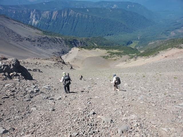 Search and rescue teams with Portland Mountain Rescue have been combing Mount Jefferson for fallen climber Steven Vanpelt of Salem.