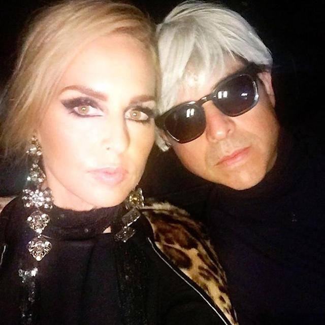 "<p>The celebrity stylist and hubby Rodger Berman hit the town as Andy Warhol and his muse Edie Sedgwick. Zoe captioned this selfie, ""Andy and Edie forever #halloweening."" (Photo: <a href=""https://www.instagram.com/p/BMJBCC8hQ_9/?taken-by=rachelzoe&hl=en"" rel=""nofollow noopener"" target=""_blank"" data-ylk=""slk:Instagram"" class=""link rapid-noclick-resp"">Instagram</a>) </p>"