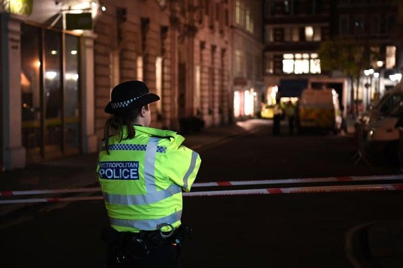 Police deal with incident  (Metropolitan Police )