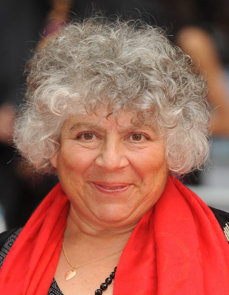 "Miriam Margolyes attends the premiere of ""Harry Potter and the Half-Blood Prince"", held at Empire and Odeon cinemas at Leicester Square. (Photo by rune hellestad/Corbis via Getty Images)"