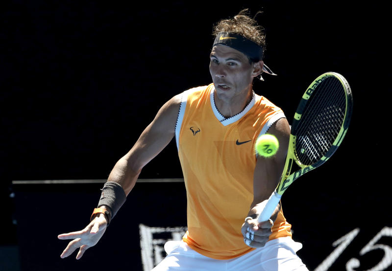 Nadal, Sharapova and Wozniacki advance at Australian Open