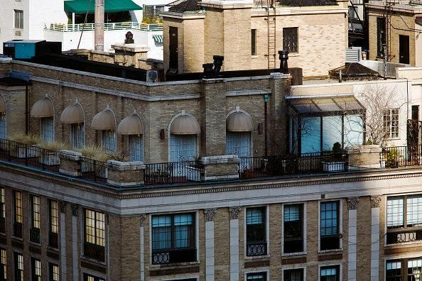 The Madoffs' Upper East Side co-op apartment, where Bernie Madoff remained under house arrest during his trial.