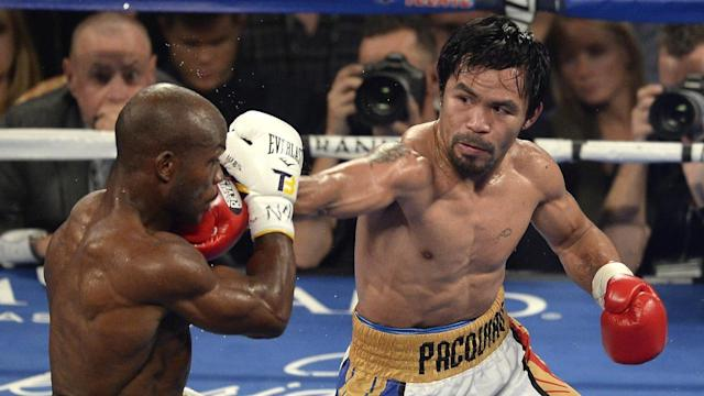 """Boxer Timothy Bradley Jr (left) says facing Manny Pacquiao has Jeff Horn """"scared out of his mind"""""""