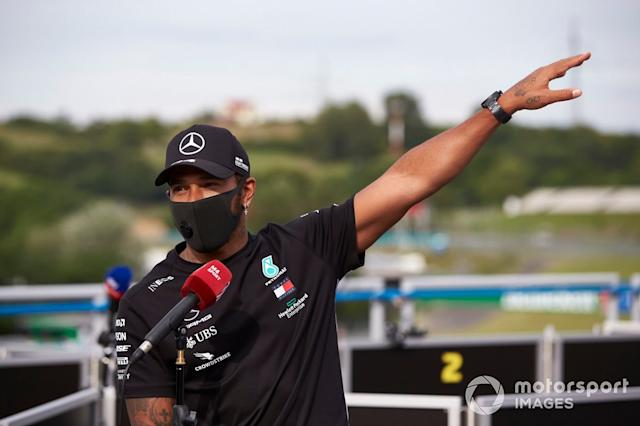 "Lewis Hamilton: 7 <span class=""copyright"">Steve Etherington / Motorsport Images</span>"