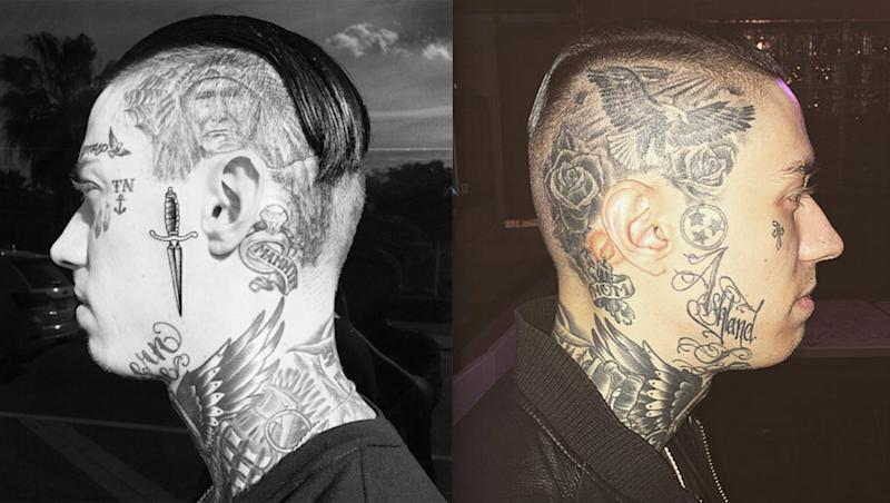 What Justin Bieber's Face Tattoo Will Look Like in 30 Years