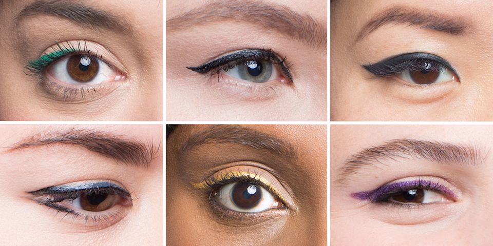 """<p>Winged eyeliner (or <a href=""""https://www.goodhousekeeping.com/beauty/makeup/a25922659/how-to-apply-eyeliner/"""" rel=""""nofollow noopener"""" target=""""_blank"""" data-ylk=""""slk:cat eyeliner"""" class=""""link rapid-noclick-resp"""">cat eyeliner</a>) is an incredibly popular look that mystifies many - but the truth of the matter is that it's surprisingly easy to master. Really! You can watch this tutorial by <a href=""""https://youtu.be/DBVxiXCyRKo"""" rel=""""nofollow noopener"""" target=""""_blank"""" data-ylk=""""slk:YouTuber Adriana Braje"""" class=""""link rapid-noclick-resp"""">YouTuber Adriana Braje</a> (along with some 12 million others), and then see makeup artist <a href=""""http://www.lavonnebeauty.com/"""" rel=""""nofollow noopener"""" target=""""_blank"""" data-ylk=""""slk:Lavonne Anthony"""" class=""""link rapid-noclick-resp"""">Lavonne Anthony</a> show us how it's done below. <br></p><p>But before you embark on perfecting that perfect feline flick, the first step (and the one that makes everything else <em>so</em> much simpler) is understanding your specific eye shape. Only then you can pick <a href=""""https://www.goodhousekeeping.com/beauty-products/eyeliner-reviews/"""" rel=""""nofollow noopener"""" target=""""_blank"""" data-ylk=""""slk:the best eyeliner"""" class=""""link rapid-noclick-resp"""">the best eyeliner</a> for you. Our Beauty Lab's top pick is <strong>Sephora's Long-Lasting 12 HR Wear Eye Liner</strong> ($12, <a href=""""https://www.sephora.com/product/long-lasting-eye-liner-P279639?SKUID=1296151"""" rel=""""nofollow noopener"""" target=""""_blank"""" data-ylk=""""slk:sephora.com"""" class=""""link rapid-noclick-resp"""">sephora.com</a>), but below are some perfect picks for the best cat eye, no matter your eye shape.</p>"""