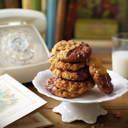 """<p>These oaty treats are set to become a tea-time must-have</p><p><strong>Recipe: <a href=""""https://www.goodhousekeeping.com/uk/food/recipes/a536859/chocolate-oaties-biscuits/"""" rel=""""nofollow noopener"""" target=""""_blank"""" data-ylk=""""slk:Chocolate Oat Biscuits"""" class=""""link rapid-noclick-resp"""">Chocolate Oat Biscuits</a></strong></p>"""