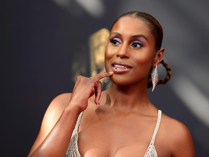 Issa Rae attends the 73rd Primetime Emmy Awards at L.A. LIVE on September 19, 2021 in Los Angeles, California.